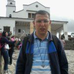 Chegada do Ir. Joel à Colômbia para o início do Escolasticado