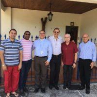 Visita de D. Gregório ao Conselho Provincial