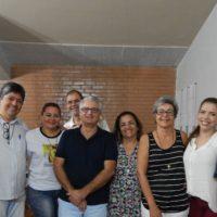 Visita de Pe. Hernaldo Farias,sss às Comunidades ALLS de João Pessoa