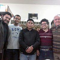 Formação dos Noviços com Pe. Marcelo Silva,sss