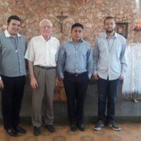 Formação do Noviciado com Pe. Vittorio Baggi,sss