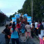 Escolásticos participam de Novena de Nossa Senhora do Carmo na Colômbia