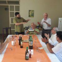 Comemoração Aniversário Presbiteral de Pe. Andrés Taborda,sss