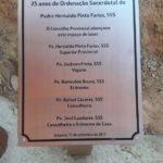 Homenagem aos 25 anos de Ordenação Presbiteral de Pe. Hernaldo,sss em Itaipava