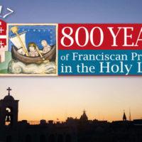 Papa encoraja franciscanos que celebram 800 anos na Terra Santa