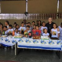 Festa das crianças na Paróquia de Sant'Ana no Rio de Janeiro