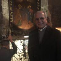 Pe. José Laudares,sss, em retiro na Terra Santa