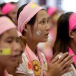 Papa conclui viagem a Mianmar em Missa com os jovens