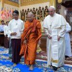 Papa pede a budistas de Mianmar superar preconceitos, ódio e curar feridas