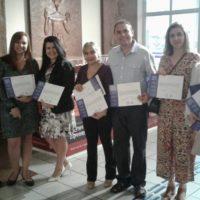 Pe. Jackson Frota,sss, recebe premiação na Universidade de Fortaleza