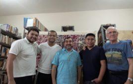 Formação dos Noviços com Pe. Leopoldo Jimenez,sss