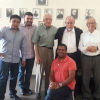 Visita de  Dom Aloísio ao Noviciado SSS