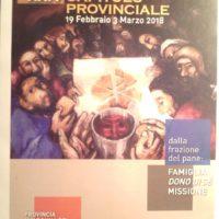 Capítulo Provincial da Província Madonna del SS. Sacramento (Itália - Áustria - Espanha - Camarões)