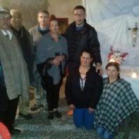 Ir. Joel Lopes,sss, em Missão da Semana Santa na Comunidade de Tibita del Carmen