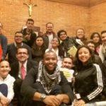 Irmãos José Elissandro,sss, e Wilmer Gomez,sss, na Missão da Semana Santa