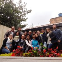 Retiro para jovens da Parroquia Corpus Cristh de Bogotá