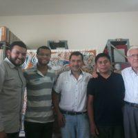 Formação do noviciado com Pe. Christian Retamales,sss
