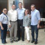Pe. Jackson em audiência com o Governador de Ceará
