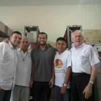 Noviços participam de segunda formação com Pe. Andrés