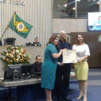 Homenagem para Dom Aldo Pagotto na Assembleia Legislativa da Cidade de Fortaleza