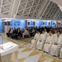 Papa: evitar a intriga para caminhar na verdadeira unidade