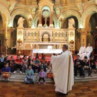 Catequeses e Celebração dominical na Paróquia do Santíssimo Sacramento – Chile