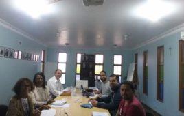 Irmãos Sacramentinos de Brasil e Colômbia em preparação para a Missão