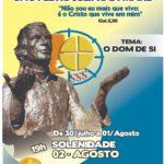 Tríduo Eucarístico São Pedro Julião Eymard, Paróquia São Benedito, Fortaleza.