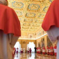 Papa preside Consistório Ordinário Público