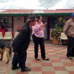 Visita de escolásticos à Casa da Misericórdia na Colômbia