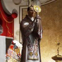 Restauro de antiga imagem de São Pedro Julião em Igreja Sant'Ana de Rio.