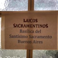 Inicio de Formación Vocacional para Laicos sss en la comunidad de Buenos Aires.