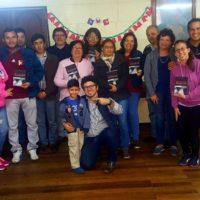 Pe. Marcelo Carlos Visita a Comunidade de Santiago no Chile
