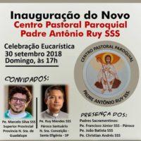 Novo Centro Pastoral Paroquial Pe. Antônio Ruy sss