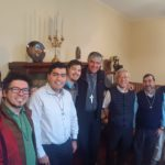 Visita Provincial á Comunidade de San Martín, Argentina.