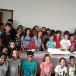 Retiro com crianças do santuário Coração Eucarístico de Jesus em Caratinga