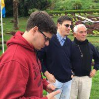 Gerardo e Mateo, os novos estudantes sacramentinos do aspirantado