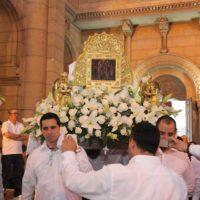 Paróquia do Santíssimo Sacramento de Santiago de Chile celebra a festa da Divina Pastora junto á Comunidade Venezuelana.