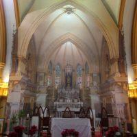 Boa Viagem em restauração: Obras no presbitério já iniciaram