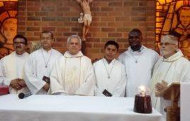 Profissão religiosa no Escolasticado Clas