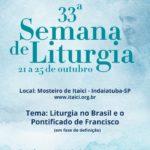 33º Semana de Liturgia