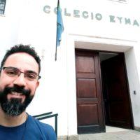 Ir. Willian em nova missão no Colégio Eymard, na Argentina