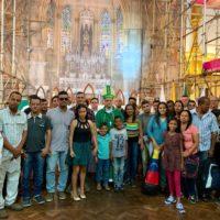 Acolhida a grupo de venezuelanos
