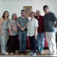 Reunião da Coordenação Provincial da ALLS no Centro Emaús