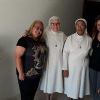 Associação de Leigas e Leigos Sacramentinos visitam comunidade das Servas do Santíssimo Sacramento em Belo Horizonte.