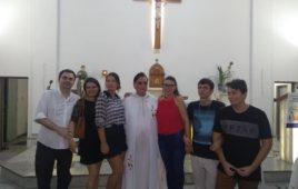 Celebração de aniversário de ordenação do Pe. Armindo Magalhães