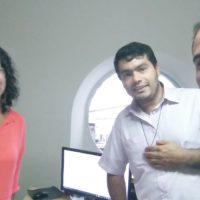 Reunião da equipe administrativa Regional 3