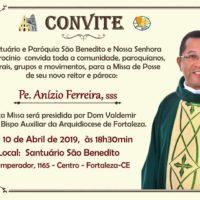 Missa de Posse Pe. Anízio Ferreira, SSS