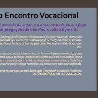 Segundo Encontro Vocacional Sacramentino