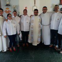 Formandos Sacramentinos participam de missão em Lagoa da Prata – MG
